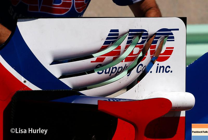 June 24-26: Takuma Sato's car during the Verizon IndyCar Series Kohler Grand Prix at Road America.