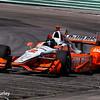 June 24-26: Juan Pablo Montoya during the Verizon IndyCar Series Kohler Grand Prix at Road America.