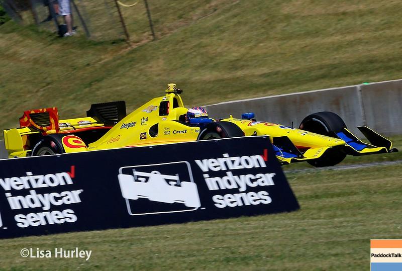 June 24-26: Scott Dixon during the Verizon IndyCar Series Kohler Grand Prix at Road America.