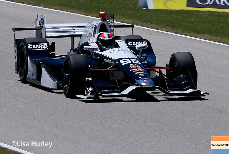 June 24-26: Alexander Rossi during the Verizon IndyCar Series Kohler Grand Prix at Road America.