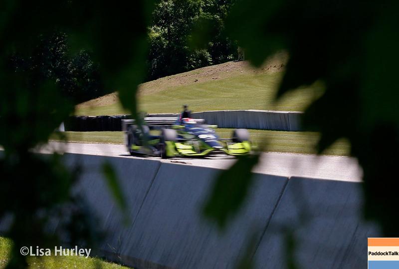 June 24-26: Charlie Kimball during the Verizon IndyCar Series Kohler Grand Prix at Road America.