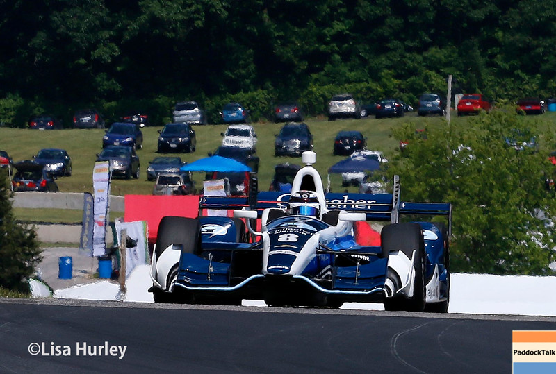 June 24-26: Max Chilton during the Verizon IndyCar Series Kohler Grand Prix at Road America.