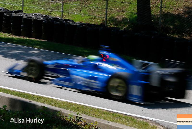 June 24-26: Tony Kanaan during the Verizon IndyCar Series Kohler Grand Prix at Road America.
