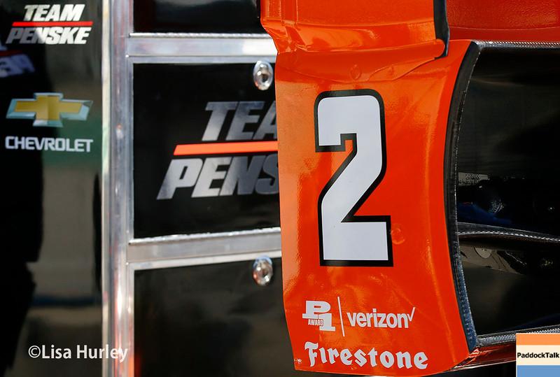 June 24-26: Juan Pablo Montoya's car during the Verizon IndyCar Series Kohler Grand Prix at Road America.