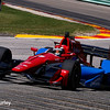 June 24-26: Mikhail Aleshin during the Verizon IndyCar Series Kohler Grand Prix at Road America.