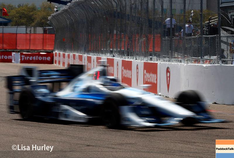 March 11-13: Max Chilton at the Firestone Grand Prix of St. Petersburg.