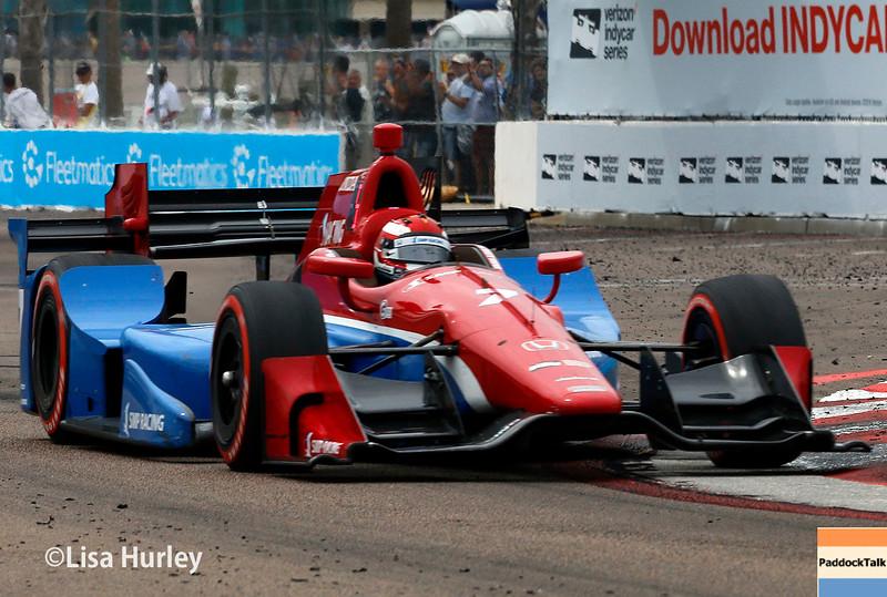 March 11-13: Mikhail Aleshin at the Firestone Grand Prix of St. Petersburg.