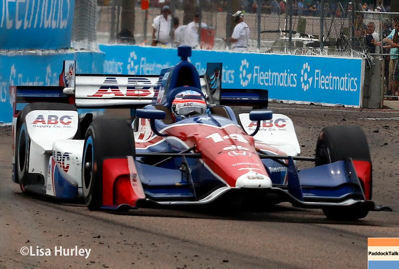 March 11-13: Takuma Sato at the Firestone Grand Prix of St. Petersburg.