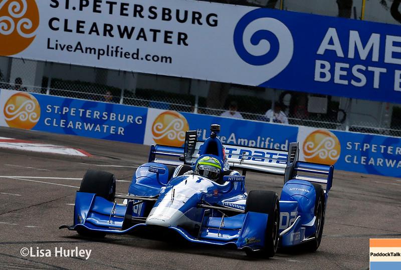 March 11-13:  Tony Kanaan at the Firestone Grand Prix of St. Petersburg.
