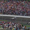 May 28: Accident in Turn 2 during the 101st Running of The Indianapolis 500.