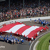 May 28: The American flag before the 101st Running of The Indianapolis 500.