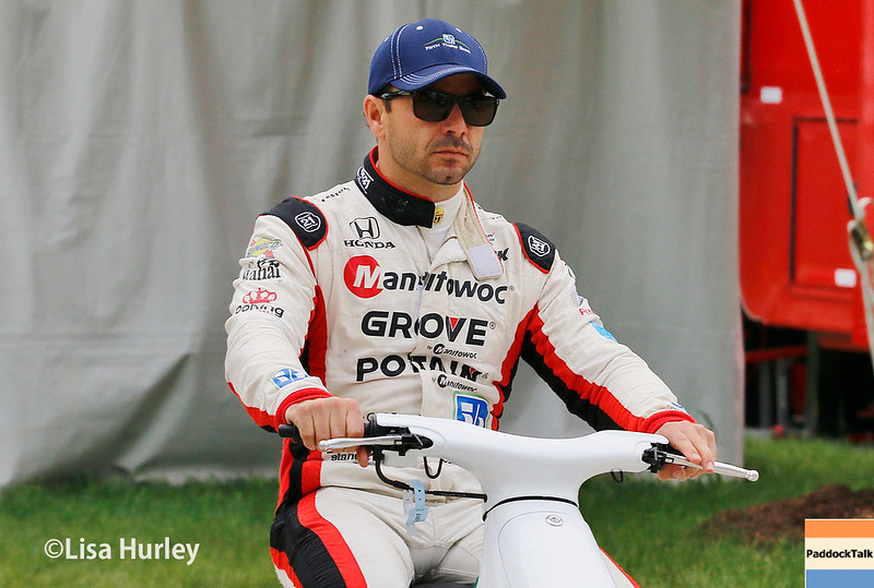 June 3-4: Oriol Servia at the Chevrolet Detroit Grand Prix Presented by Lear.