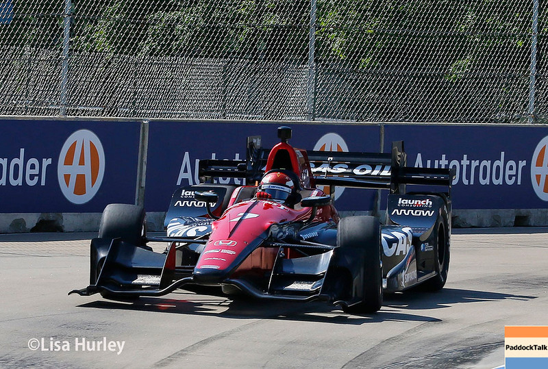 June 3-4: Mikhail Aleshin at the Chevrolet Detroit Grand Prix Presented by Lear.