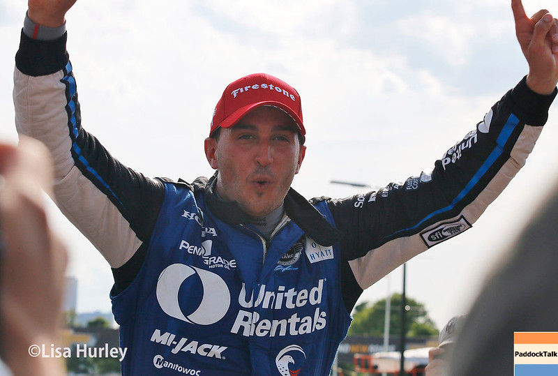 June 3-4: Graham Rahal wins at the Chevrolet Detroit Grand Prix Presented by Lear.