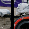 June 3-4: Rain covers before the Chevrolet Detroit Grand Prix Presented by Lear.