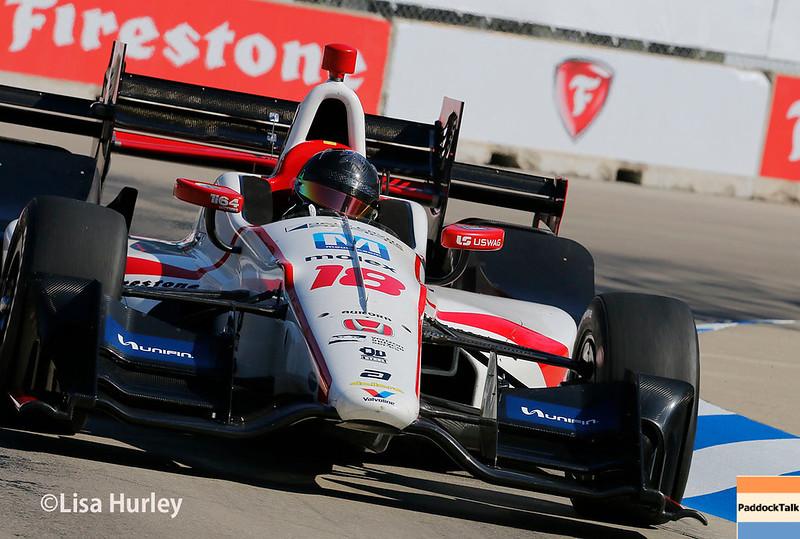 June 3-4: Esteban Gutierrez at the Chevrolet Detroit Grand Prix Presented by Lear.