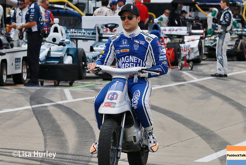 June 3-4: Marco Andretti at the Chevrolet Detroit Grand Prix Presented by Lear.