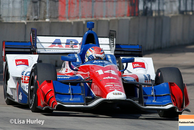 June 3-4: Carlos Munoz at the Chevrolet Detroit Grand Prix Presented by Lear.