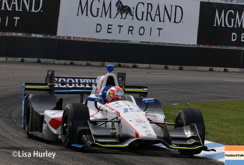 June 3-4: Ed Jones at the Chevrolet Detroit Grand Prix Presented by Lear.