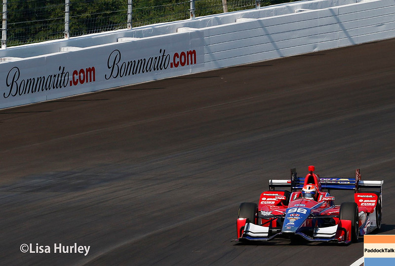 August 25-26: Alexander Rossi at the Bommarito Automotive Group 500 at Gateway Motorsports Park.