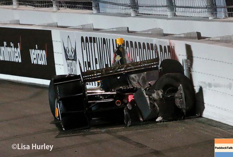 August 25-26: JR Hildebrand crashes at the Bommarito Automotive Group 500 at Gateway Motorsports Park.