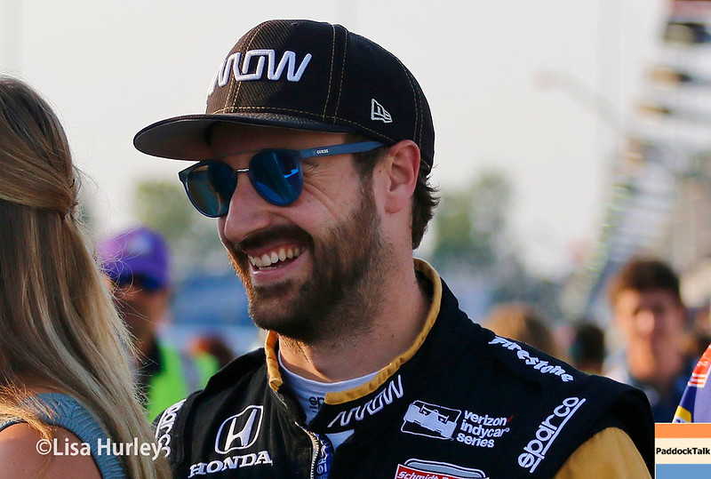 August 25-26: James Hinchcliffe at the Bommarito Automotive Group 500 at Gateway Motorsports Park.