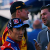 August 25-26: Takuma Sato and Ryan Hunter-Reay at the Bommarito Automotive Group 500 at Gateway Motorsports Park.