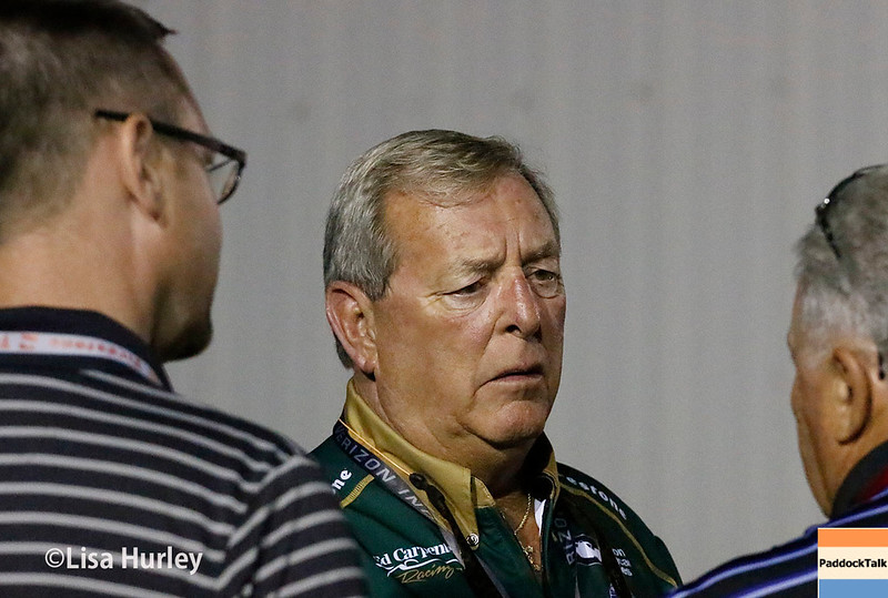 August 25-26: Fuzzy Zoeller at the Bommarito Automotive Group 500 at Gateway Motorsports Park.