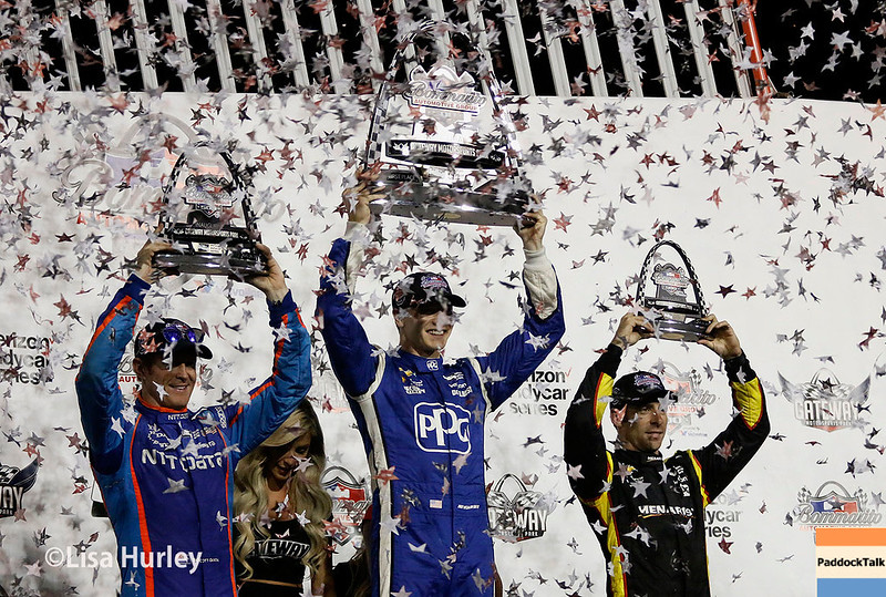 August 25-26: Victory Lane at the Bommarito Automotive Group 500 at Gateway Motorsports Park.