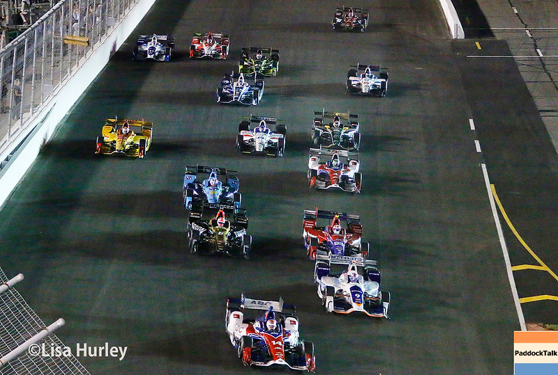 August 25-26: The start of the Bommarito Automotive Group 500 at Gateway Motorsports Park.