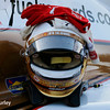 August 25-26: Helio Castroneves' helmet at the Bommarito Automotive Group 500 at Gateway Motorsports Park.