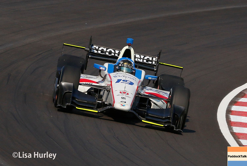 August 25-26: Ed Jones at the Bommarito Automotive Group 500 at Gateway Motorsports Park.
