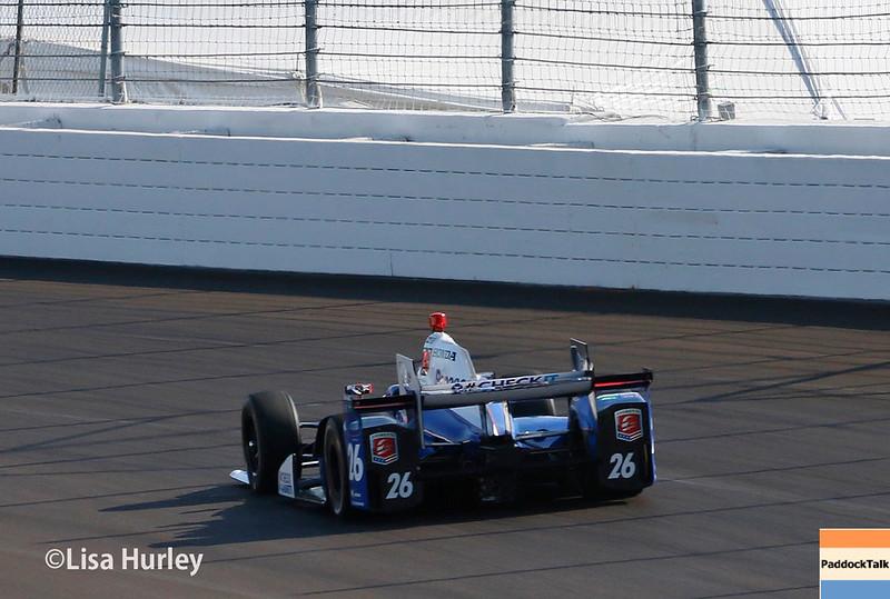 August 25-26: Takuma Sato at the Bommarito Automotive Group 500 at Gateway Motorsports Park.
