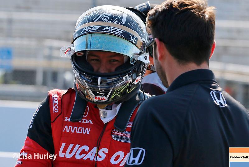 August 25-26: Sebastian Saavedra at the Bommarito Automotive Group 500 at Gateway Motorsports Park.