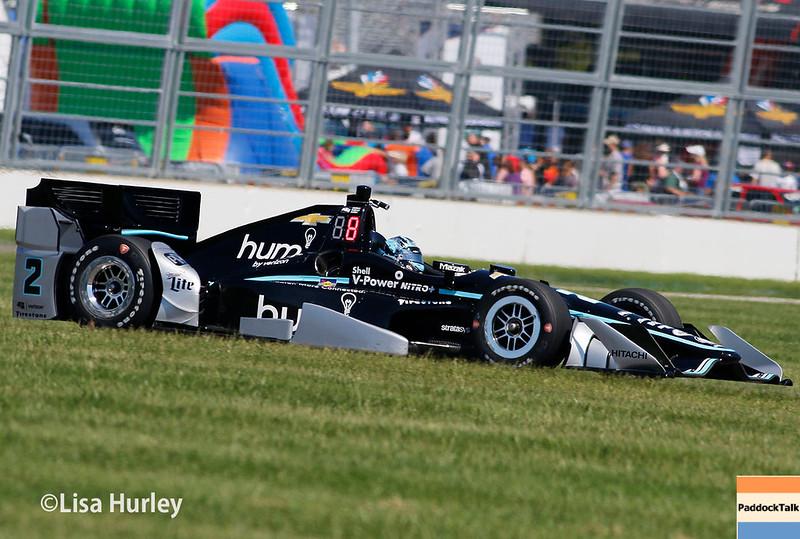 May 13: Josef Newgarden at the Grand Prix of Indianapolis.