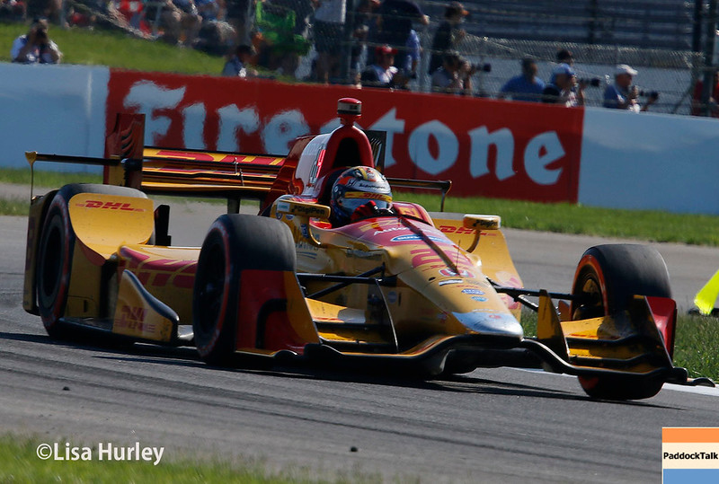 May 13: Ryan Hunter-Reay at the Grand Prix of Indianapolis.