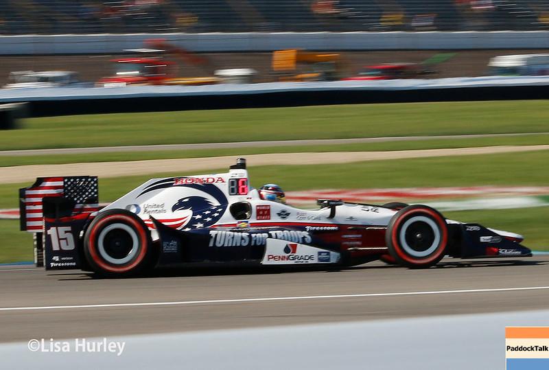 May 13: Graham Rahal at the Grand Prix of Indianapolis.