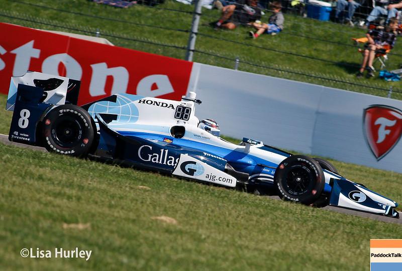 May 13: Max Chilton at the Grand Prix of Indianapolis.