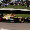 May 13: James Hinchcliffe at the Grand Prix of Indianapolis.