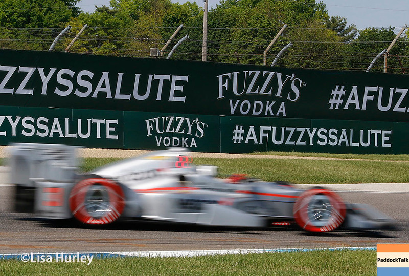 May 13: Helio Castroneves at the Grand Prix of Indianapolis.
