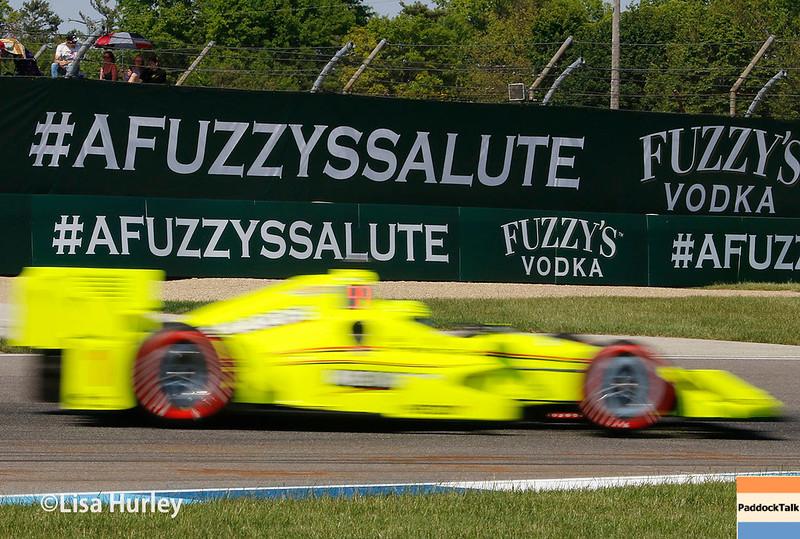 May 13: Simon Pagenaud at the Grand Prix of Indianapolis.