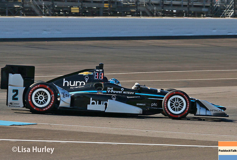 May 13: Josef Newgarden at the Grand Prix of Indianapolis.