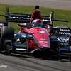 May 13: Mikhail Aleshin at the Grand Prix of Indianapolis.