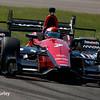 May 13: Mikhail Aleshin at the Grand Prix of Indianapolis.