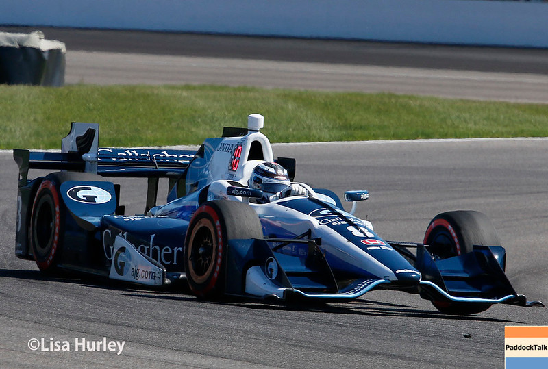 May 13: Max Chilton at the Grand Prix of Indianapolis.