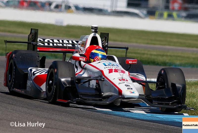 May 13: Sebastien Bourdais at the Grand Prix of Indianapolis.