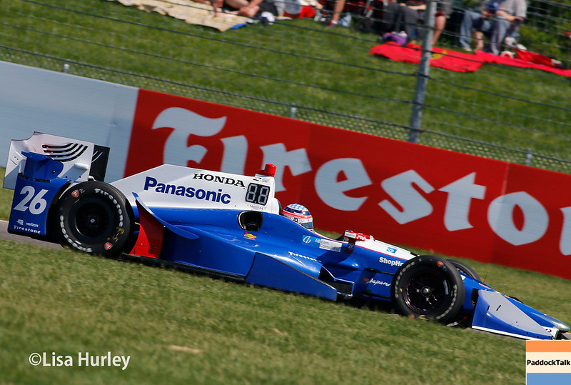 May 13: Takuma Sato at the Grand Prix of Indianapolis.