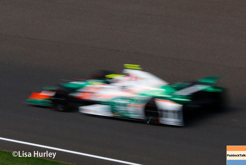 May 2017:  Spencer Pigot during practice for the 101st Running of the Indianapolis 500.