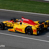 May 2017: Ryan Hunter-Reay during practice for the 101st Running of the Indianapolis 500.