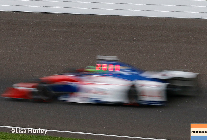 May 2017:  Conor Daly during practice for the 101st Running of the Indianapolis 500.